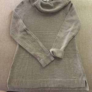 Calvin Klein cowl neck sweater, NEW, Sz S